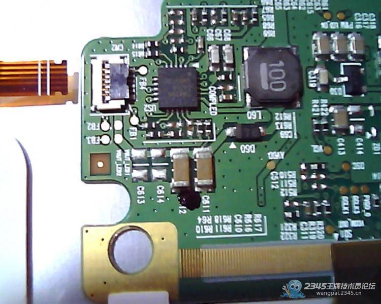 液晶屏led灯条接口定义和屏板含灯条驱动电路的图纸