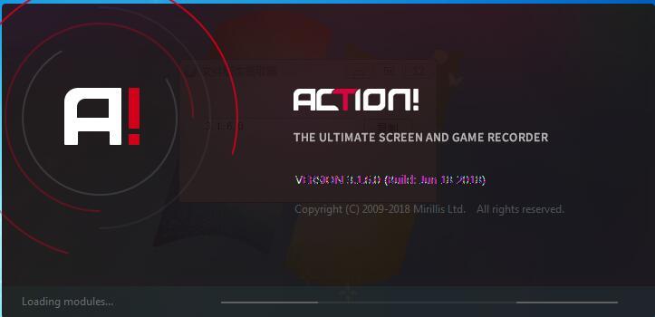 Mirillis Action(屏幕录像软件) V3.7.2.0
