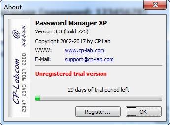 Password Manager XP(密码管理)下载