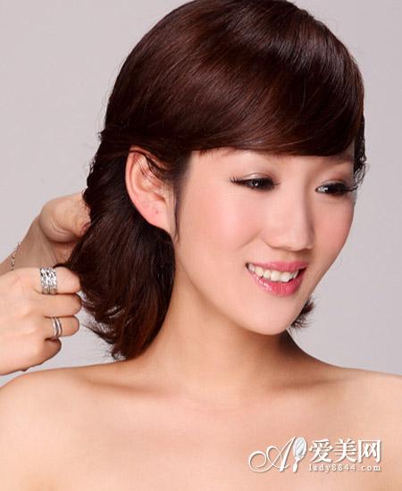 韩式新娘发型教程 打造最动人新娘
