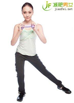 做瘦腿动作两式瑜伽动作瘦腿-瘦腿-v瘦腿百减脂1500卡图片
