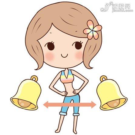 超可爱人偶减肥动作教程