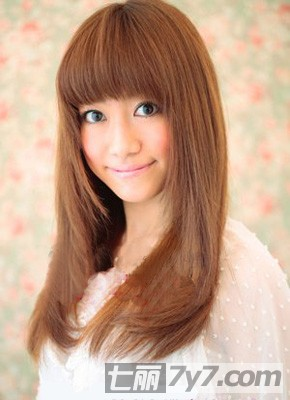 长脸型适合齐刘海吗 7款长脸适合的发型告诉你适合什么刘海