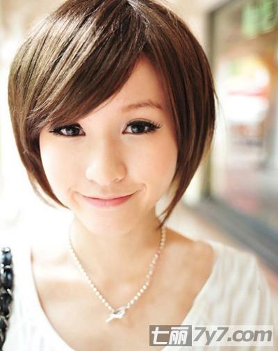 女生非主流个性短发发型图片 收集韩国最热门的俏皮短发