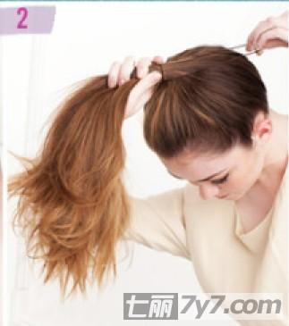 超萌丸子头扎法图解 甜美减龄必备发型