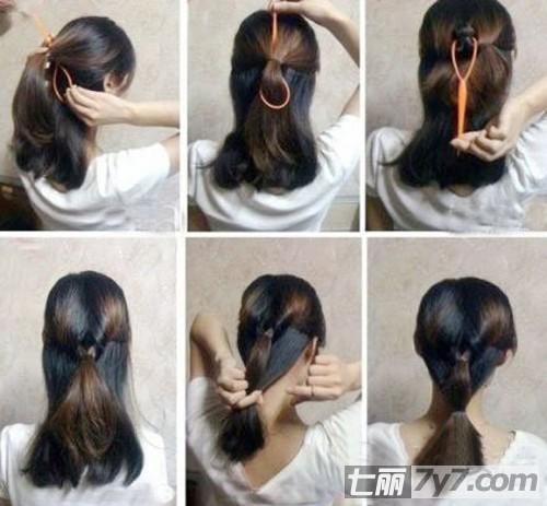 花样头发编发步骤 编头发花样步骤图片