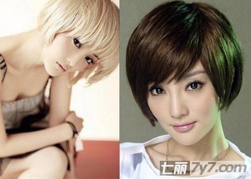 张韶涵 小编点评:张韶涵bobo头发型,还不到肩的头发,圆滑的刘海