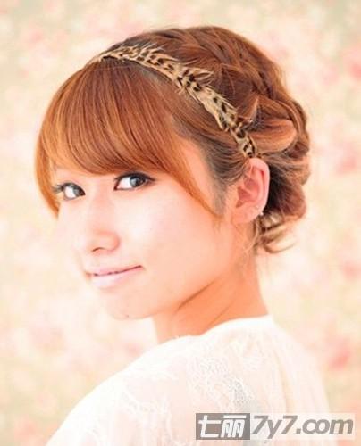 最新秋季女生短发编发发型 2款美发瞬间甜美变身