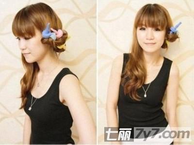 diy韩式浪漫大卷发型 甜美可爱减龄更显气质