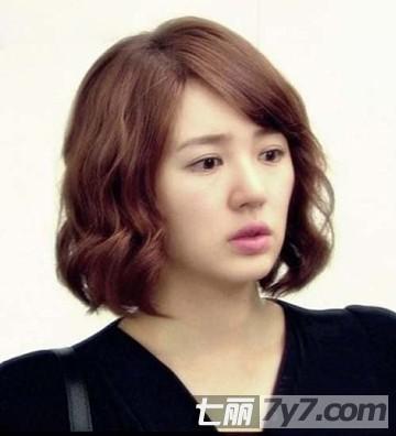 韩国时尚女明星短发发型图片 甜美帅气韩式发型攻略