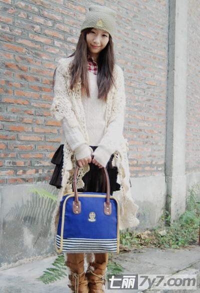 冬季森系女生穿衣搭配技巧 轻松打造浪漫唯美小清新