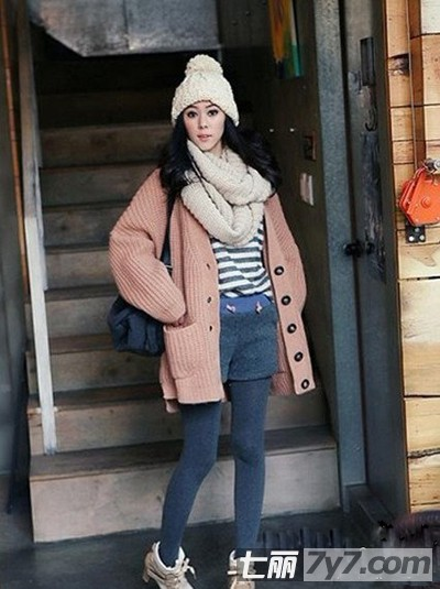 个子女生冬季如何穿衣打扮