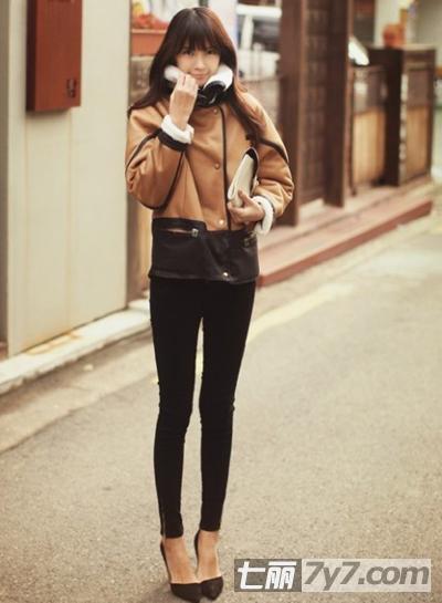 韩国女生冬季服装搭配法则