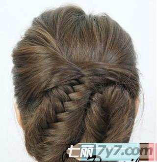 唯美浪漫韩式编发发型图解 爱美女生不能错过的发型
