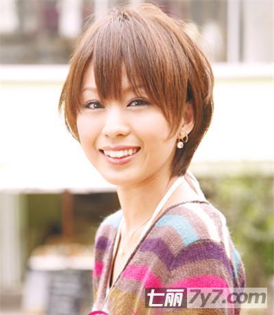 2013春季小清新短发发型图片 活泼俏丽人见人爱