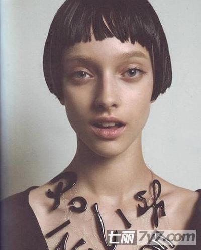 2013欧美女生潮流短发发型