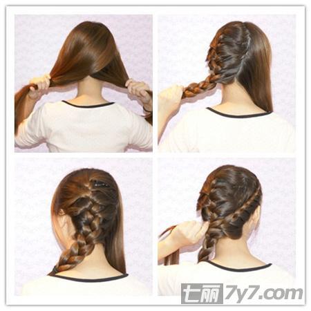 辫子,那么所有的步骤都会非常简单方便,美发达人推荐韩式蜈蚣辫编发
