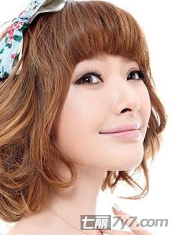 韩式短发烫发发型 4款适合孕妇辣妈的短发发型