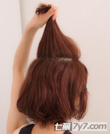 短发发型扎法详细图片