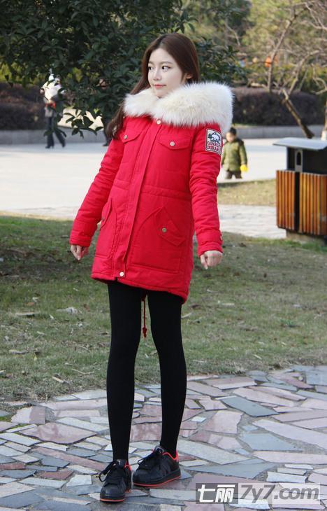 矮个子女生冬天穿衣搭配超显高