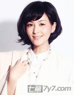 2014女明星最新短发发型 时尚知性轻熟范