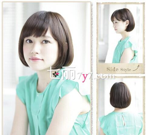 2014短发波波头发型图片
