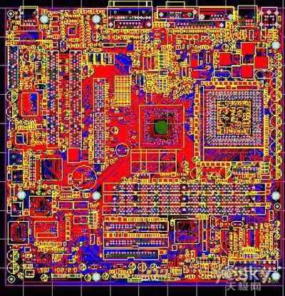 楼房电路布线图