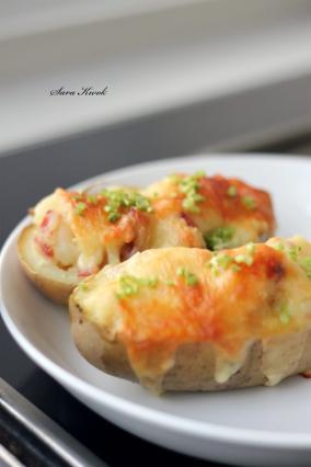 马苏里拉焗烤土豆