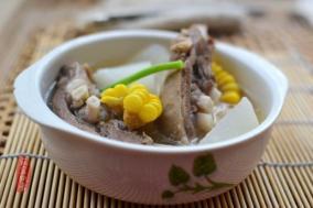 羊排萝卜汤