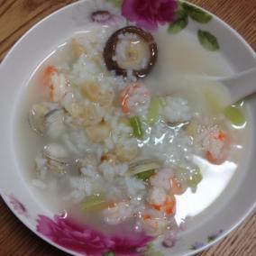 懒人海鲜粥