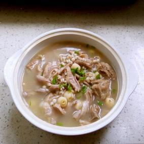 薏米猪肚汤