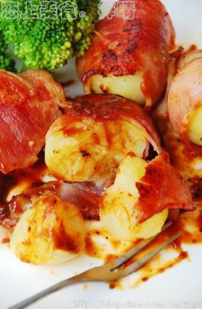 培根土豆卷