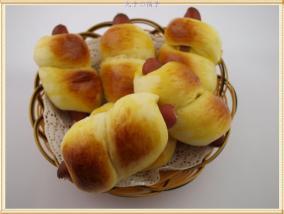 香肠面包卷
