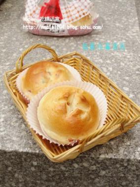培根杂蔬面包