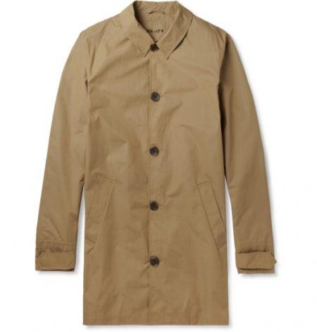聖羅蘭(SAINT LAURENT) 豹紋印花風衣
