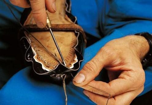 傳統的手工制鞋