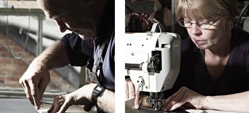 皮革的切割以及車縫