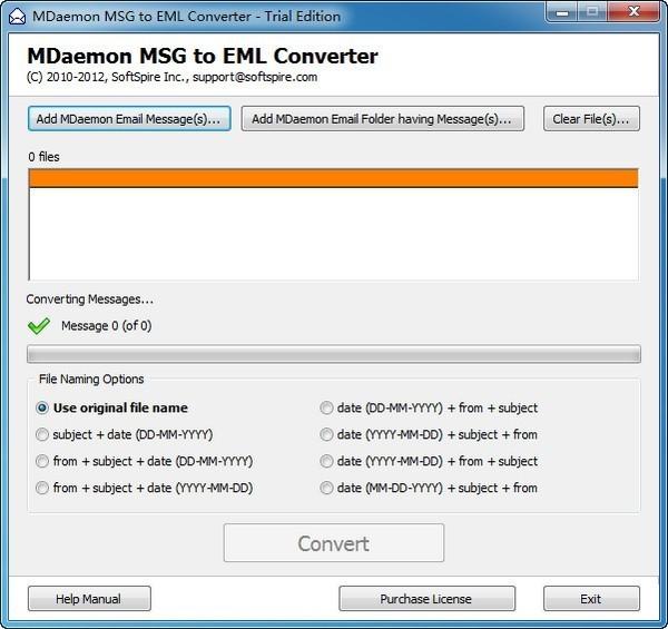 MDaemon MSG to EML Converter(MSG转换为EML)下载