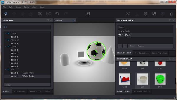 Koru(WebGL图像制作软件)下载